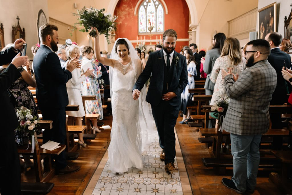 087 summer wedding at clonabreany house