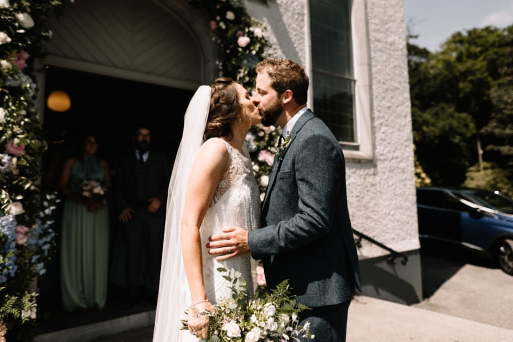088 summer wedding at clonabreany house