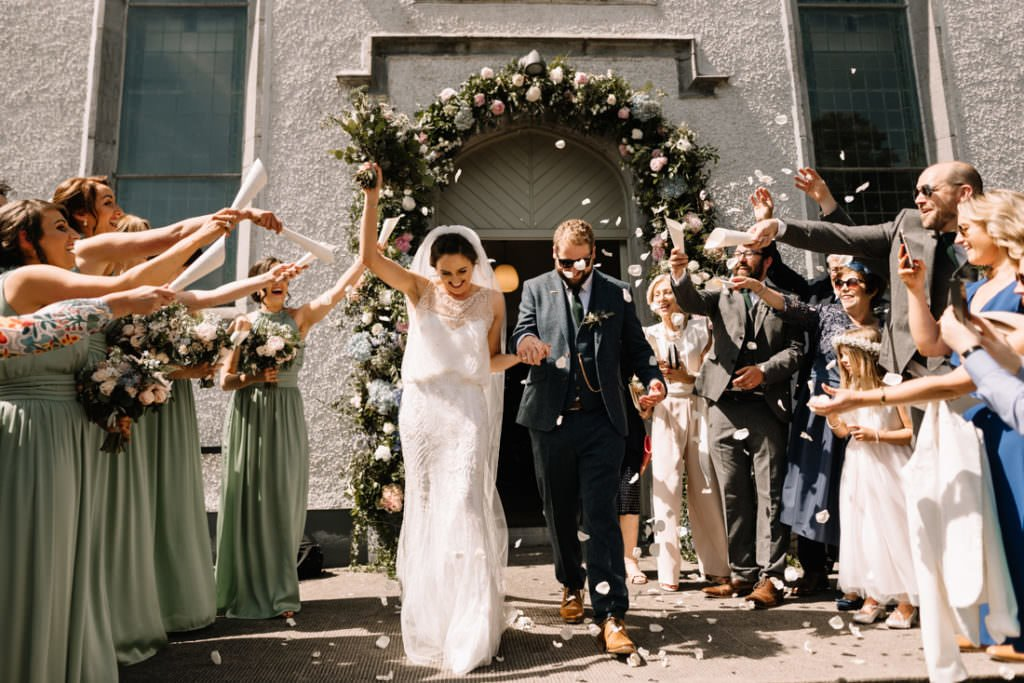 091 summer wedding at clonabreany house
