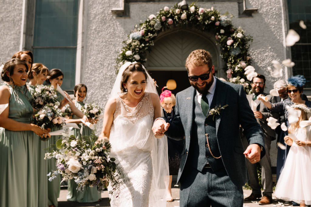 092 summer wedding at clonabreany house