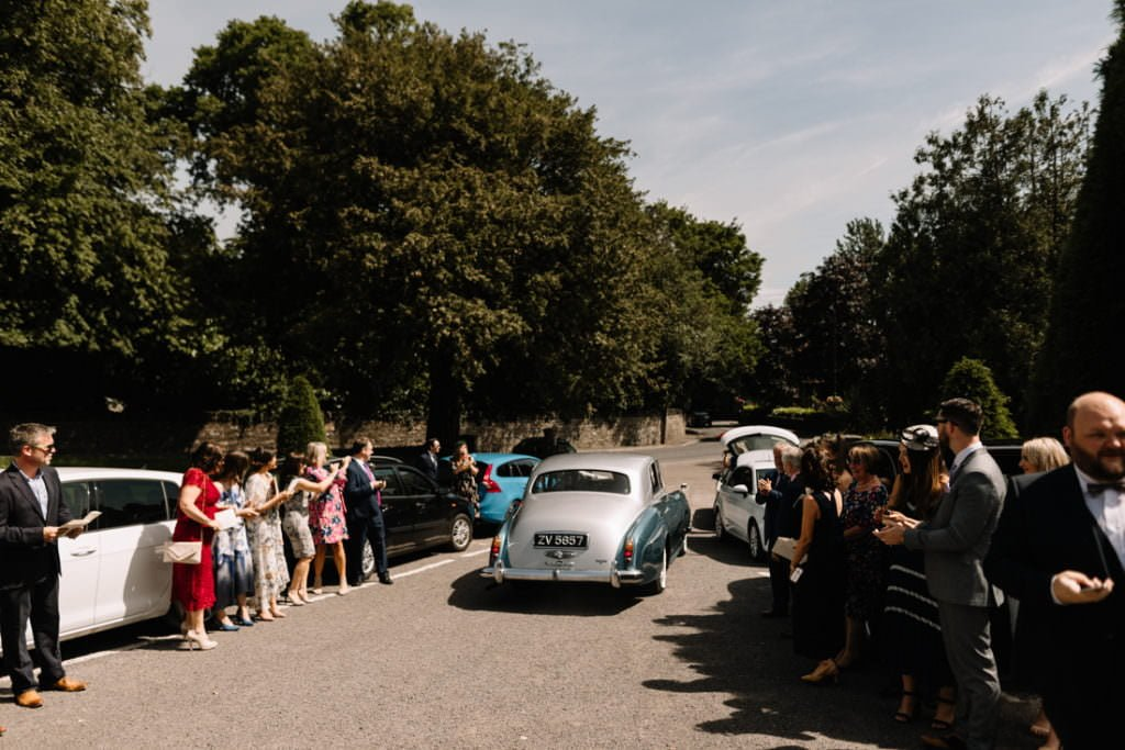 100 summer wedding at clonabreany house