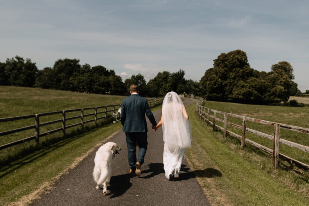 106 summer wedding at clonabreany house