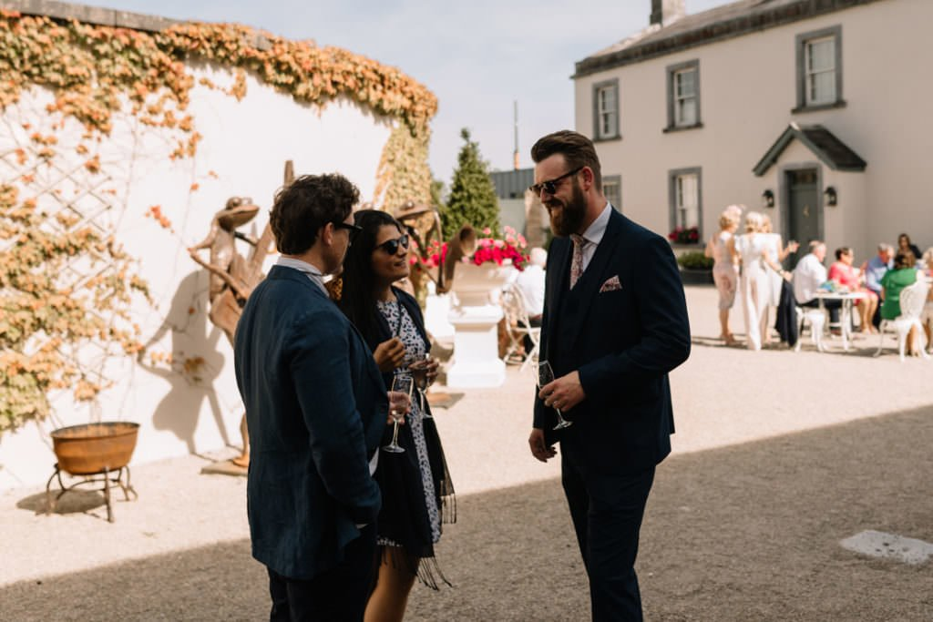 121 summer wedding at clonabreany house