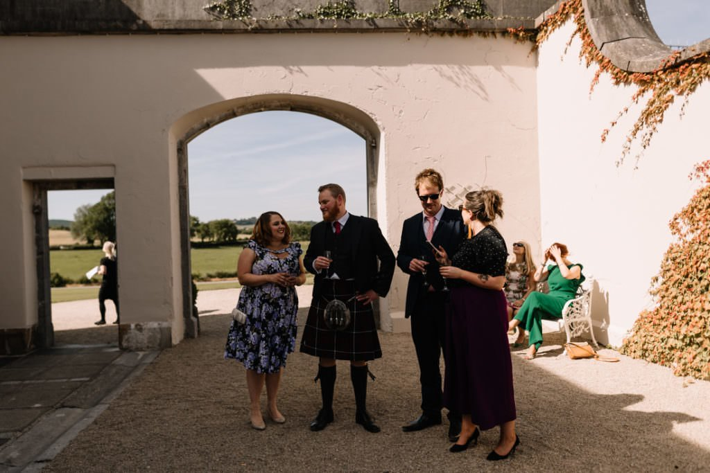 124 summer wedding at clonabreany house