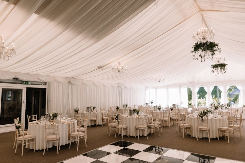 125 summer wedding at clonabreany house