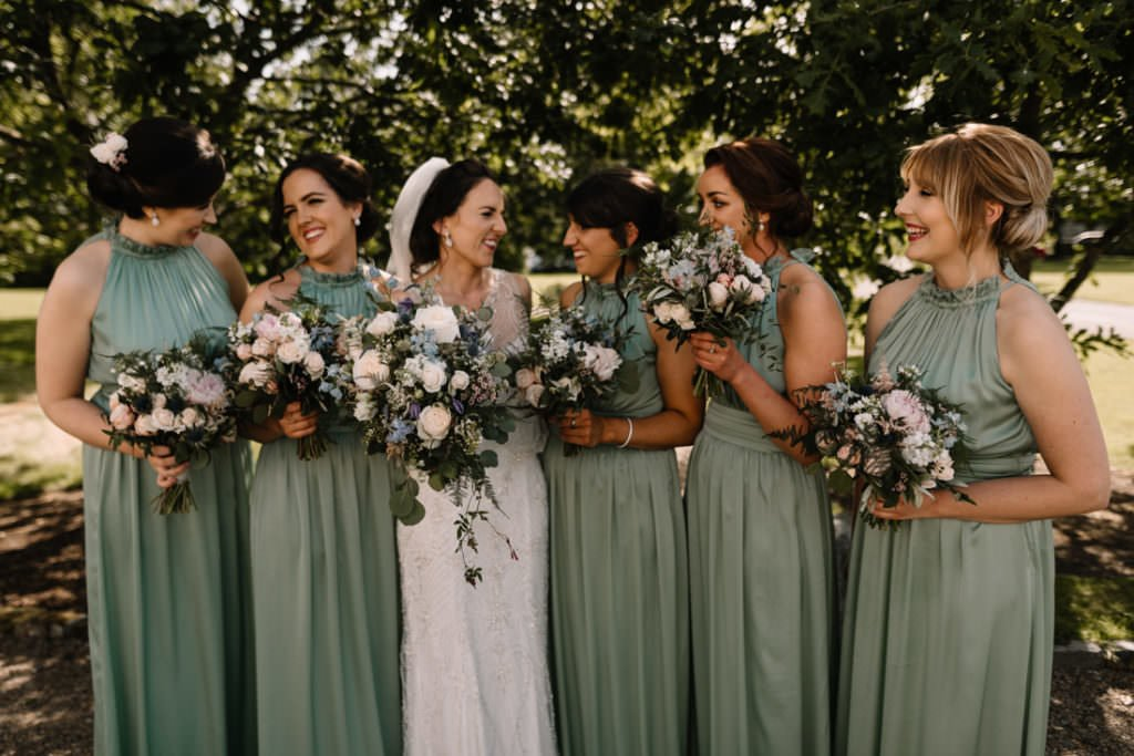 134 summer wedding at clonabreany house