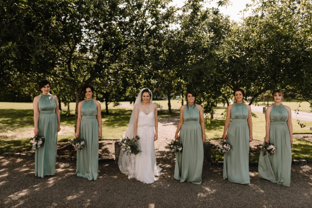 135 summer wedding at clonabreany house