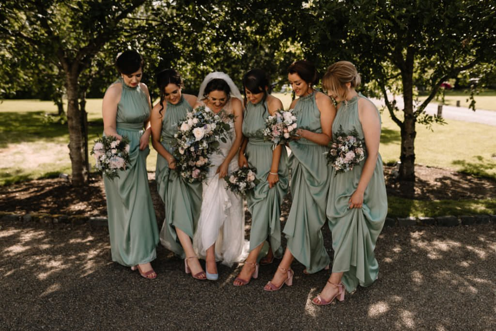 136 summer wedding at clonabreany house