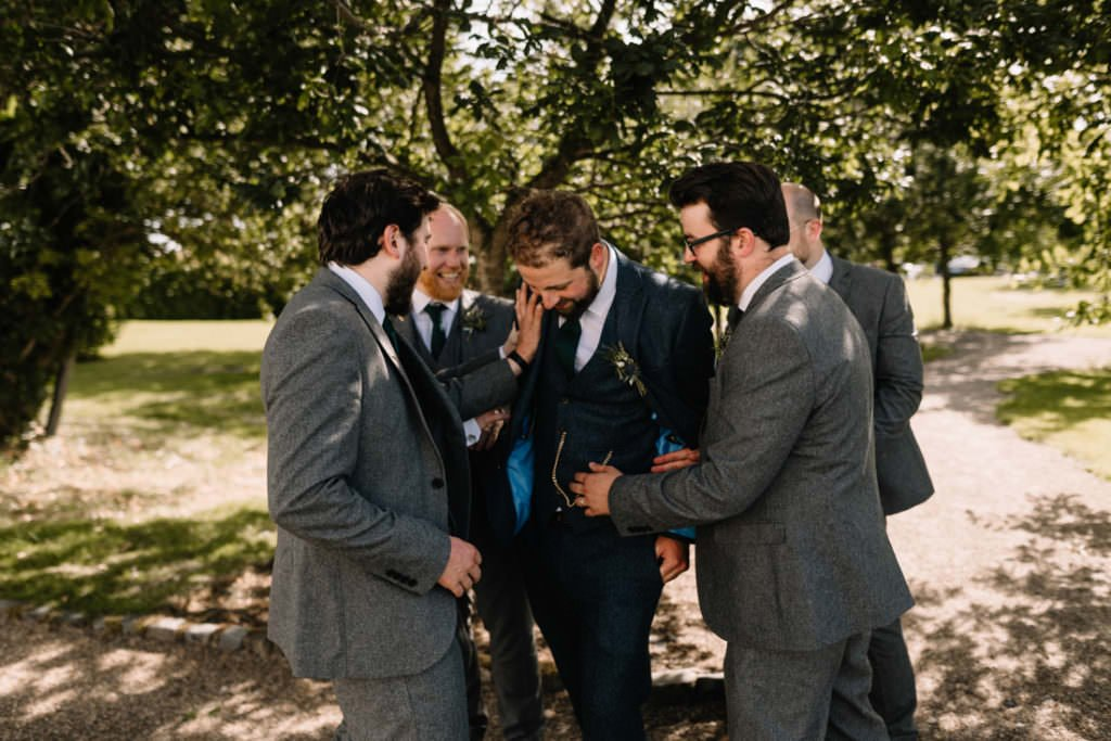 138 summer wedding at clonabreany house