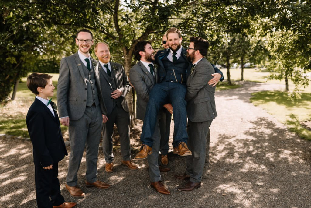 139 summer wedding at clonabreany house