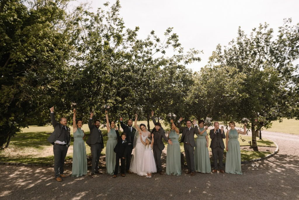 140 summer wedding at clonabreany house