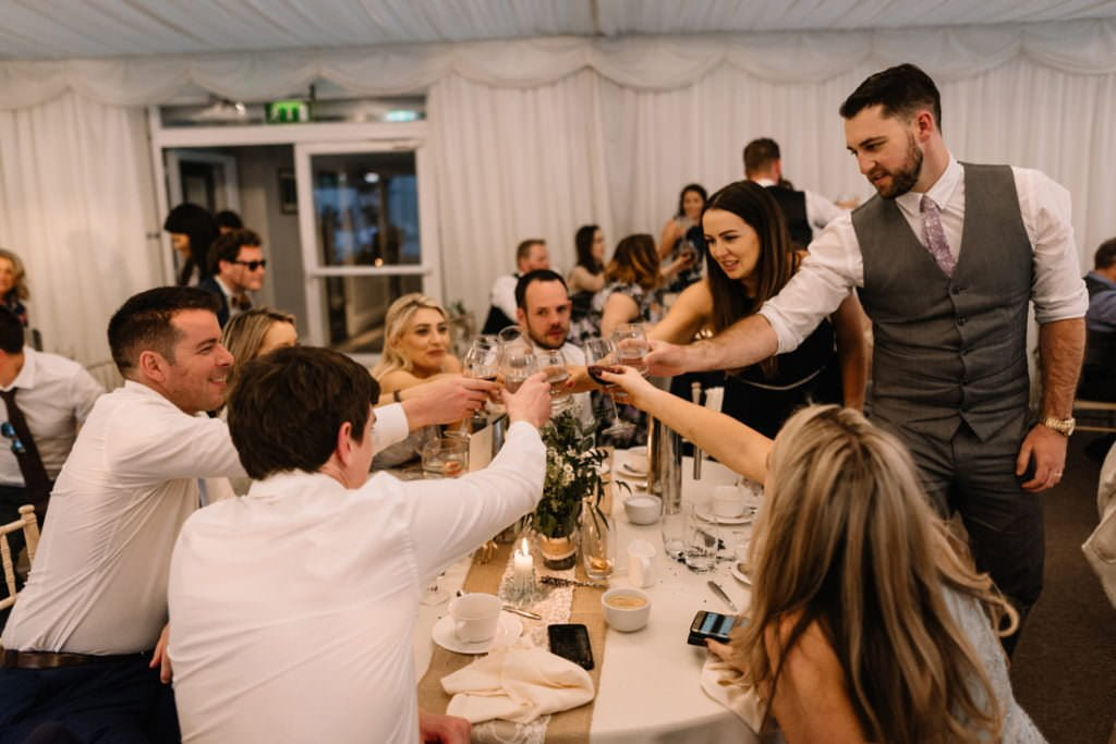 159 summer wedding at clonabreany house