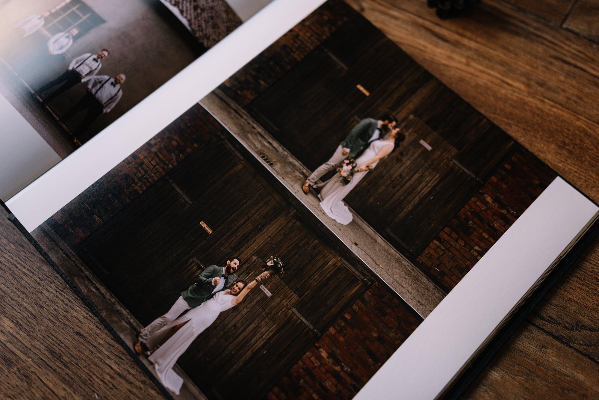 Linen Wedding Album