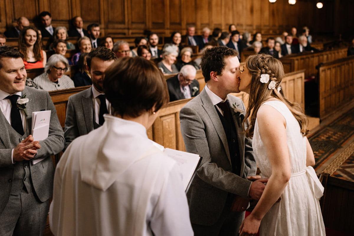 Trinity College Wedding - The Ceremony