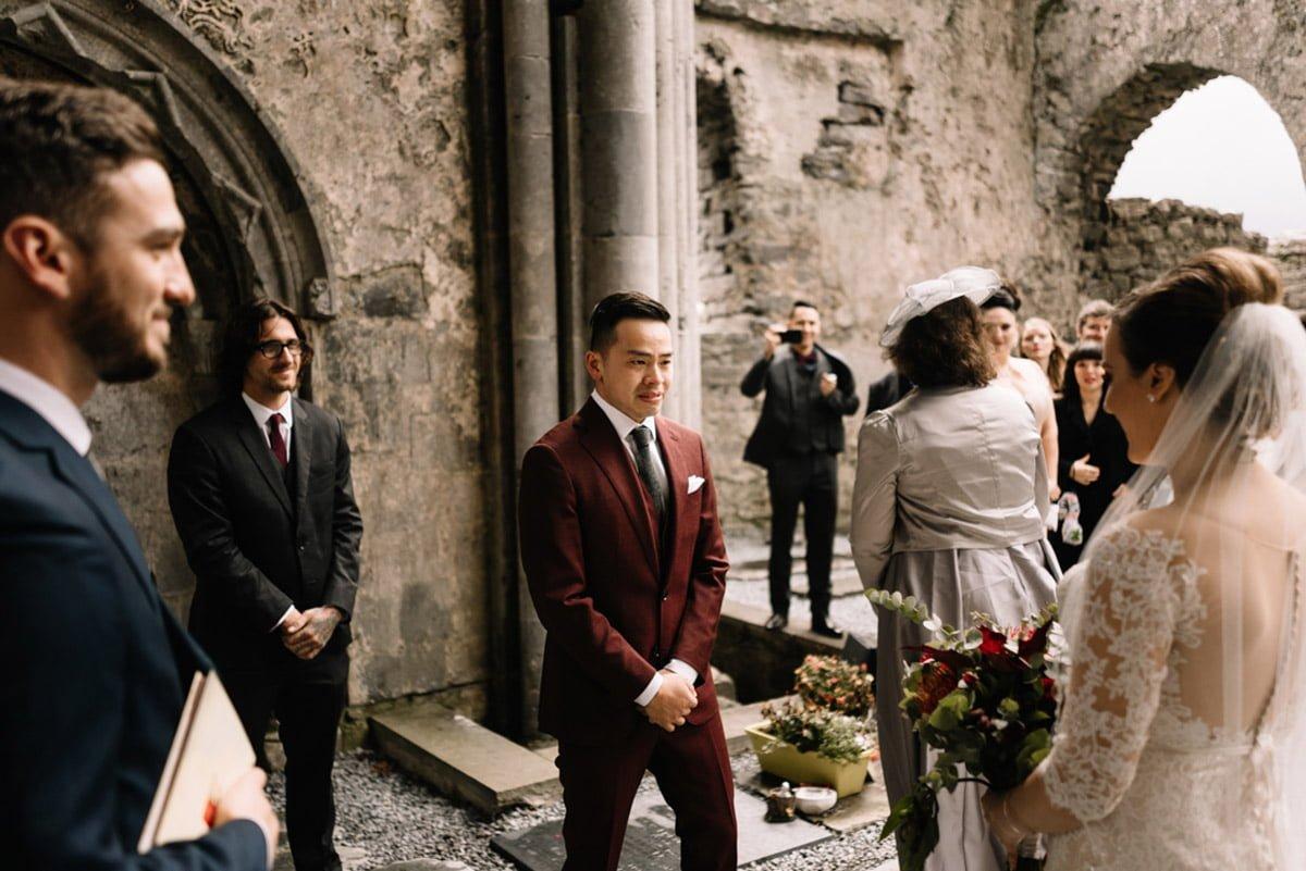 Corcomroe Abbey Elopement Wedding