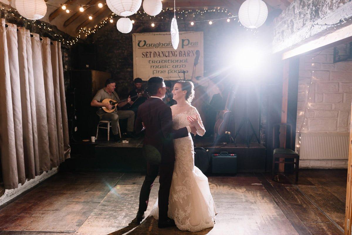 Vaughan's Barn wedding