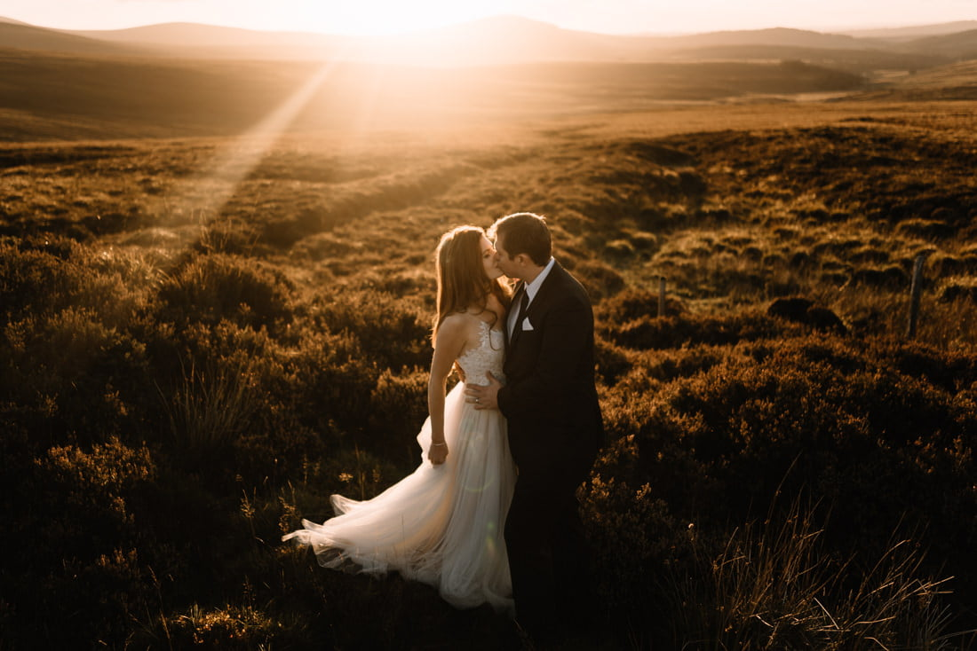 A WILD WICKLOW MOUNTAIN ENGAGEMENT SESSION AT GLENDALOUGH