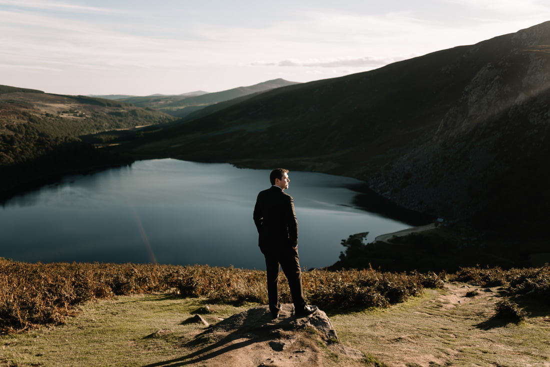 photos session in the wicklow mountains ireland